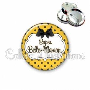 Badge 56mm Super belle-maman (006ORA01)