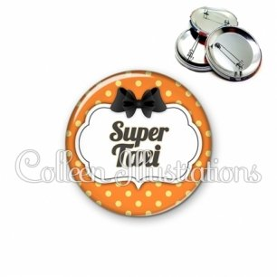 Badge 56mm Super taxi (006ORA02)