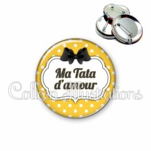 Badge 56mm Tata d'amour (006ORA05)