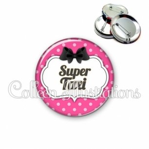 Badge 56mm Super taxi (006ROS06)