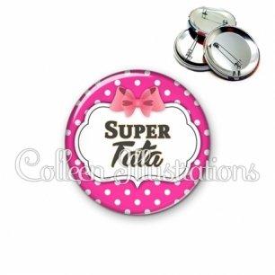 Badge 56mm Super tata (006ROS11)