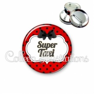 Badge 56mm Super taxi (006ROU03)