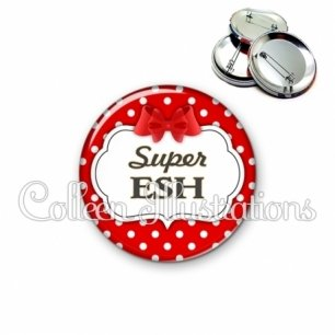 Badge 56mm Super ESH (006ROU08)