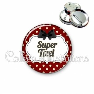 Badge 56mm Super taxi (006ROU11)