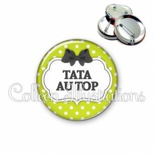 Badge 56mm Tata au top (006VER01)
