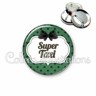 Badge 56mm Super taxi (006VER02)