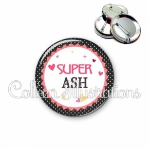 Badge 56mm Super ASH (007NOI01)