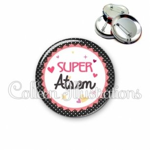 Badge 56mm Super ATSEM (007NOI01)