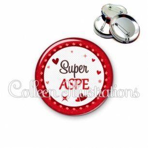 Badge 56mm Super ASPE (007ROU01)