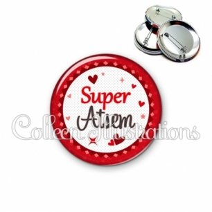 Badge 56mm Super ATSEM (007ROU01)