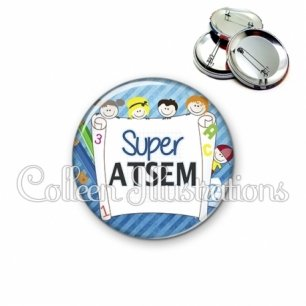Badge 56mm Super ATSEM (010BLE01)