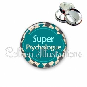 Badge 56mm Super psychologue (011MUL02)