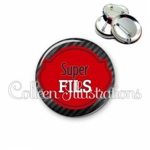 Badge 56mm Super fils (011NOI01)