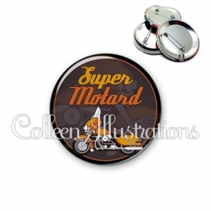 Badge 56mm Super motard (012MAR02)