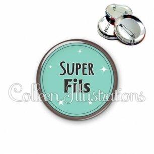 Badge 56mm Super fils (012VER01)