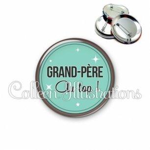 Badge 56mm Grand-père au top (012VER01)