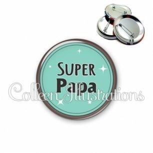 Badge 56mm Super papa (012VER01)