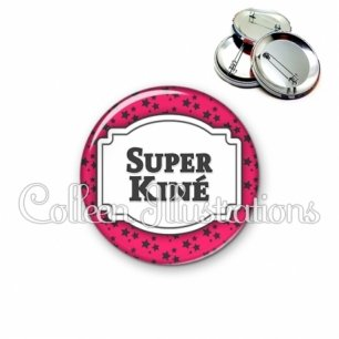 Badge 56mm Super kiné (013ROS02)