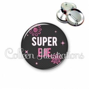 Badge 56mm Super EJE (014GRI01)