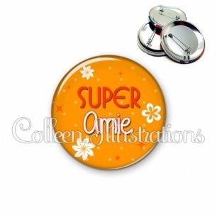 Badge 56mm Super amie (014ORA01)