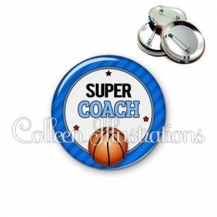 Badge 56mm Super coach (016BLE01)