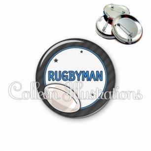 Badge 56mm Rugbyman (016GRI05)