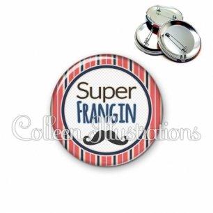 Badge 56mm Super frangin (016MUL01)
