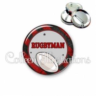 Badge 56mm Super rugbyman (016MUL11)