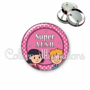 Badge 56mm Super AESH (016ROS05)