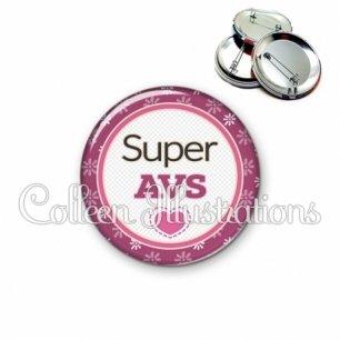 Badge 56mm Super AVS (016VIO01)