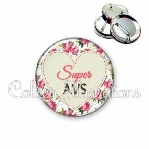 Badge 56mm Super AVS (015MUL02)