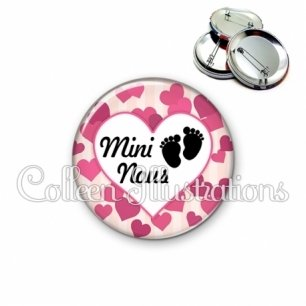 Badge 56mm Mini-nous (015ROS03)