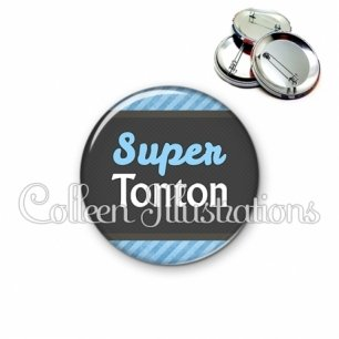 Badge 56mm Super tonton (019BLE05)