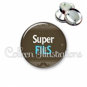 Badge 56mm Super fils (019MAR01)