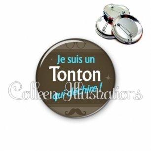 Badge 56mm Tonton déchire (019MAR01)