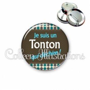 Badge 56mm Tonton qui déchire (019MUL01)