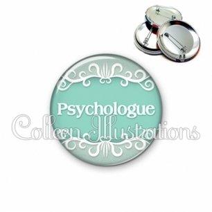 Badge 56mm Psychologue (021VER01)