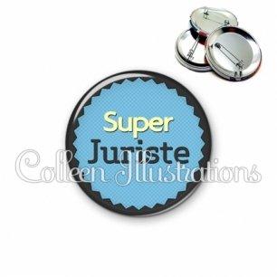 Badge 56mm Super juriste (024BLE01)