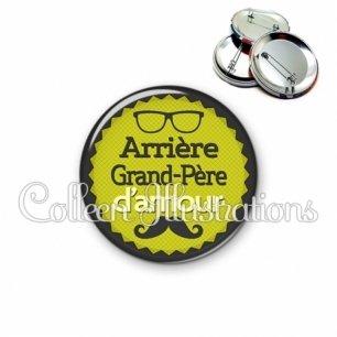 Badge 56mm Arrière grand-père d'amour (024VER01)