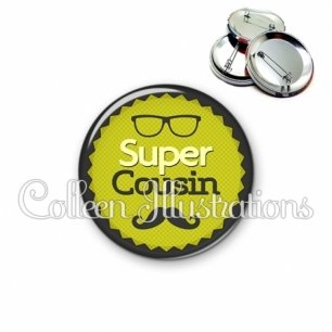 Badge 56mm Super cousin (024VER01)
