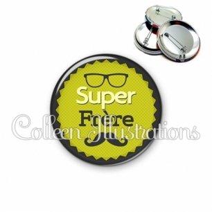 Badge 56mm Super frère (024VER01)
