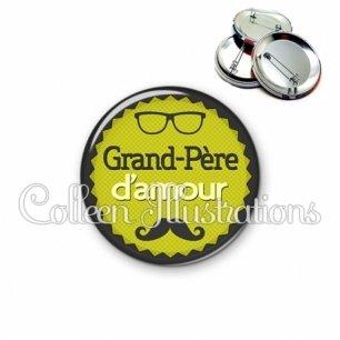 Badge 56mm Grand-père d'amour (024VER01)