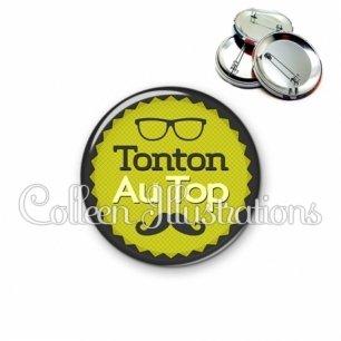 Badge 56mm Tonton au top (024VER01)
