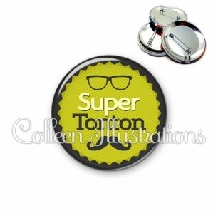 Badge 56mm Super tonton (024VER01)