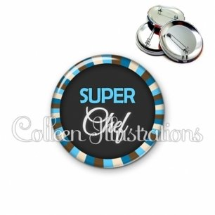 Badge 56mm Super chef (027BLE01)