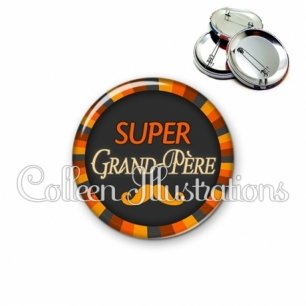 Badge 56mm Super grand-père (027ORA01)