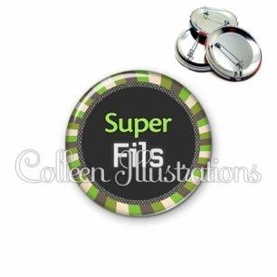 Badge 56mm Super fils (027VER01)