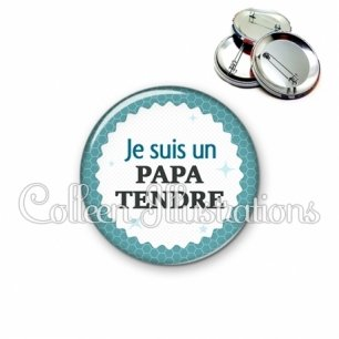 Badge 56mm Pata tendre (028BLE02)