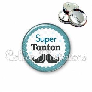 Badge 56mm Super tonton (028BLE04)
