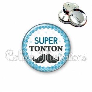 Badge 56mm Super tonton (028BLE06)
